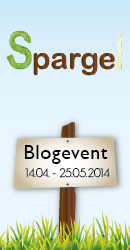 1. Bloggeburtstag - Blogevent Spargel